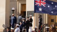Els ministres de Defensa d'Austràlia i els EUA, en un acte dimecres al Pentàgon, a Virgínia