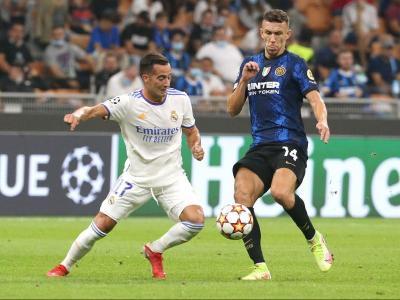 Imatge del partit d'ahir entre l'Inter i el Madrid