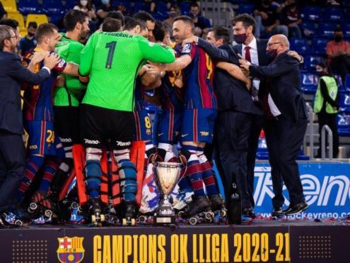 El Barça campió de l'OK Lliga 2020/21