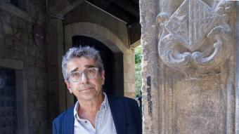 Jordi Martí, dijous passat al centre d'art de La Capella