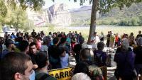 Protesta a Sant Llorenç de Montgai