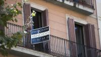 Un pis que s'acaba de vendre a Barcelona en una imatge d'arxiu