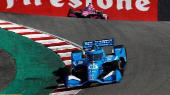 Àlex Palou en el circuit de Laguna Seca