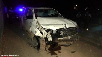 El tot terreny que va provocar l'accident mortal a l'A-22 a Lleida