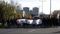 Imatge de la protesta que va originar la causa que ara s'ha arxivat
