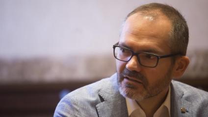 L'exvicepresident primer del Parlament, Josep Costa