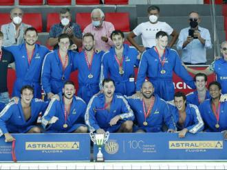 L'Atlètic Barceloneta celebra la 14a copa Catalunya