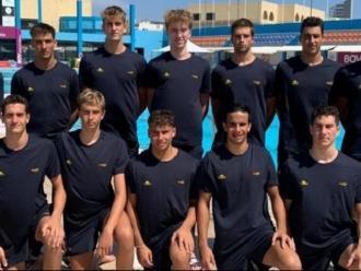 Els components de la selecció espanyola juvenil a Malta