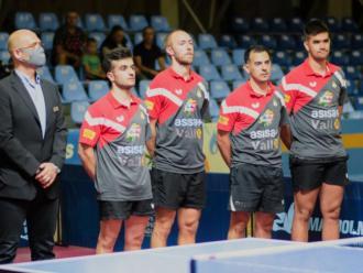 L'equip de l'Asisa Borges Vall que va disputar la primera fase de la champions