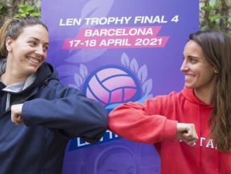 Maica García (CN Sabadell) i Anni Espar (CN Mataró) van conduir el seus equips el curs passat fins al tercer i el segon lloc de la copa LEN, respectivament