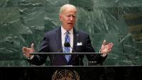 Biden, durant la seva intervenció ahir davant de l'Assemblea General de l'ONU