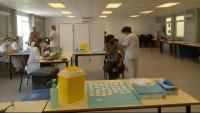 Punt de vacunació a la UdG