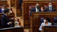 El ministre de la Presidència, Félix Bolaños, respon Vox al Congrés