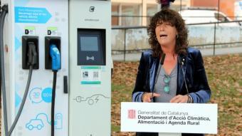 La consellera d'Acció Climàtica, Teresa Jordà