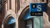 Oficina del Banc Sabadell a un carrer de Barcelona