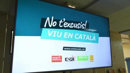 Campanya de la Plataforma per la Llengua perquè els adults recordin als joves que cal usar el català