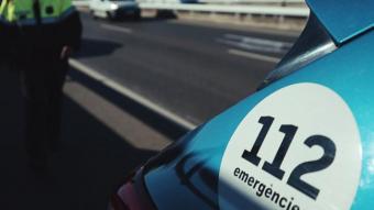 Detingut per donar-se a la fuga després d'atropellar greument un ciclista a Albatàrrec