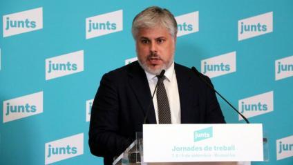 El president del grup parlamentari de Junts, Albert Batet