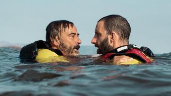 Els actors Eduard Fernández i Dani Rovira