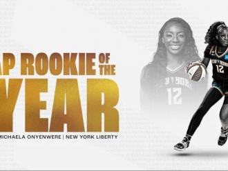 "Michaela Onyenwere, ""rookie"" de l'any a la WNBA"