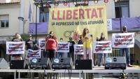 Acte de suport a les persones investigades en l''Operació Judes', aquest dissabte a Sentmenat