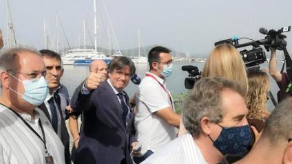 """Puigdemont: """"Continuarem lluitant"""""""