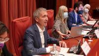 El conseller d'Educació, Josep Gonzàlez-Cambray