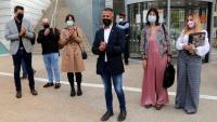 L'exalcalde d'Alcarràs, Miquel Serra, davant del jutjats