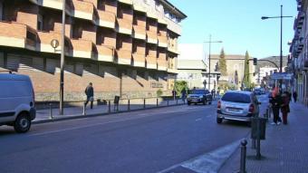 El carrer Mulleras (el carrer Nou), el lloc on es va produir l'agressió d'ahir, en una foto d'arxiu