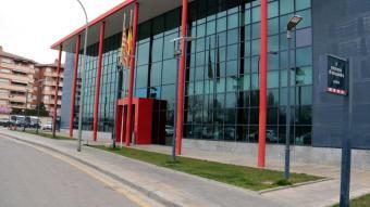 Exterior de la comissaria dels Mossos a Lleida
