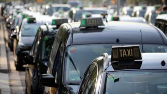 Protesta dels taxistes