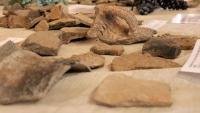 Restes de ceràmica trobades durant la present campanya d'excavacions