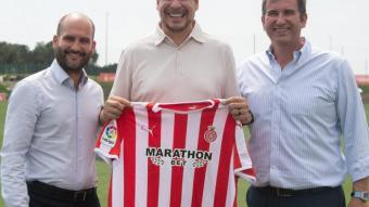 Pere Guardiola, Marcelo Claure i Ferran Soriano
