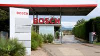 Accés a la planta de Bosch a Castellet i la Gornal