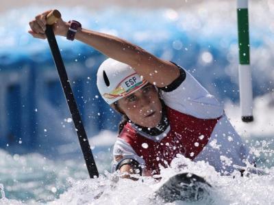 Núria Vilarrubla en una imatge dels Jocs Olímpics