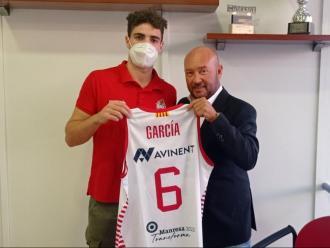 Dani García i el president Josep Sáez