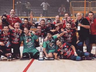 El Forte dei Marmi amb el trofeu de campió