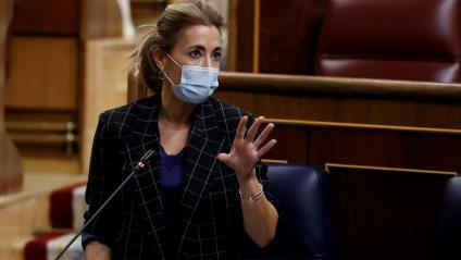 La ministra de Transports, Raquel Sánchez, al Congrés dels Diputats