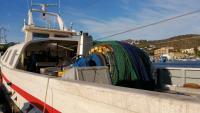 La barca 'Estel' de Roses va enganxar les restes d'un home assassinat amb les seves xarxes