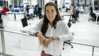 Marta Bertran, fotografiada a la universitat de la Salle, a Barcelona