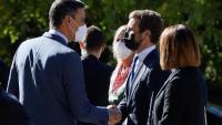 Sánchez i Casado al Monestir de Yuste ahir dijous