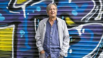 L'historiador Jordi Serrano, fotografiat la setmana  passada abans de fer l'entrevista