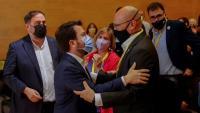 Junqueras, Aragonès i Romeva, aquest dissabte al Consell Nacional d'ERC