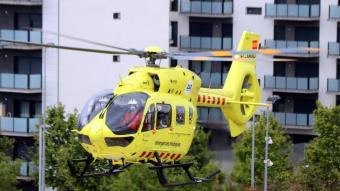 S'han activat tres ambulàncies i l'helicòpter del SEM