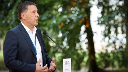 El coordinador general d'EH, Arnaldo Otegi
