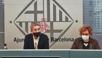 Els regidors Jordi Martí i Montserrat Ballarín explicant ahir la proposta d'ordenances fiscals per al 2022