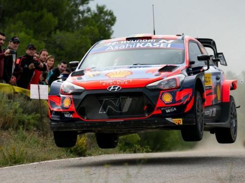 Thierry Neuville en el primer tram del RallyRacc,