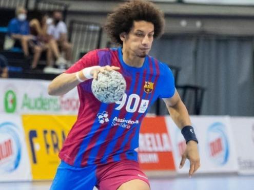 Ali Zein , autor de 5 gols contra el Valladolid