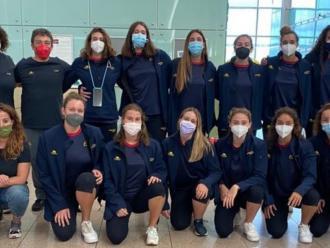 La selecció espanyola júnior femenina