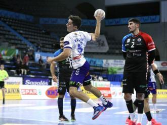 Edgar Pérez en el partit contra el Sinfin